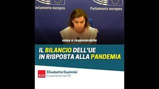 Intervento durante la Plenaia del Parlamento europeo dell'europarlamentare Elisabetta Gualmini sugli Orientamenti per il bilancio 2022.