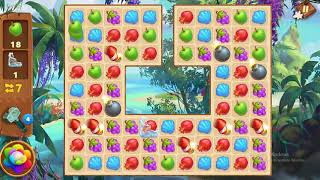 Tropical Forest Match 3 Story Level 72