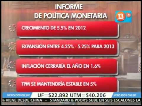 Mercados on line 18 de diciembre 2012.