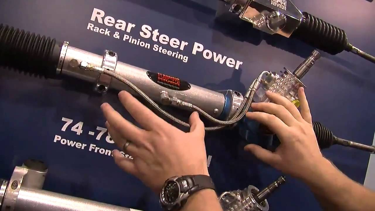 2010 sema v8tv video coverage flaming river rack pinion steering conversion systems