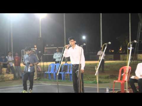 SOAPBOX Krishna S Patil, Candidate General Secretary Social & Cultural, TSG, 2016-17