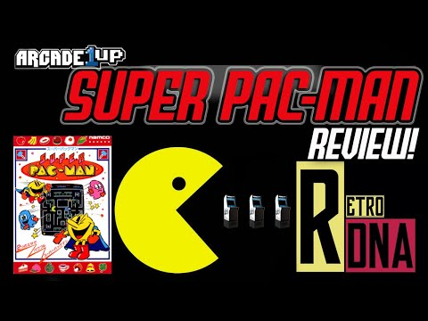 Super Pac-man Arcade 1up review from RETRO DNA