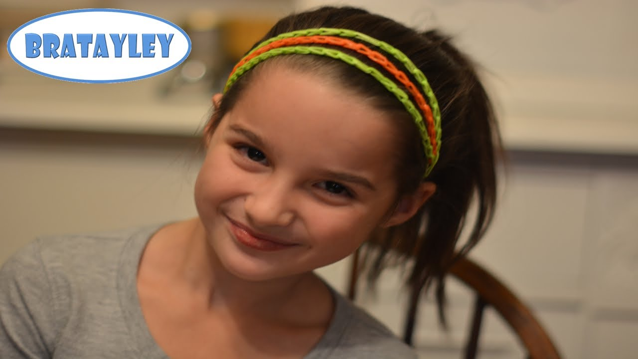Rainbow Loom Headband Tutorial Youtube