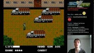 """ЯО Games, выпуск 3 """"Metal Gear"""" + Bonus """"Contra"""" - [NES\Dendy]"""