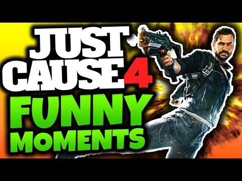 """Just Cause 4: Funny Moments! - """"FOR SCIENCE!"""" - (JC4 Gameplay)"""