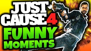 Just Cause 4: Funny Moments! -