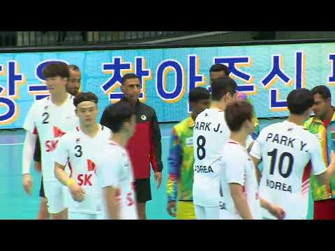 18th asian men's handball championship 2018_Korea vs Bangladesh