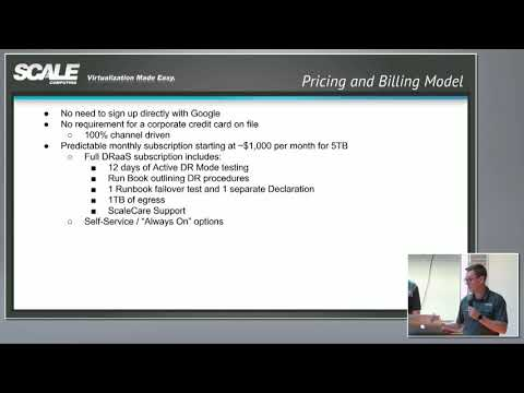 Scale Computing Cloud Unity Pricing and Availability with Craig Theriac