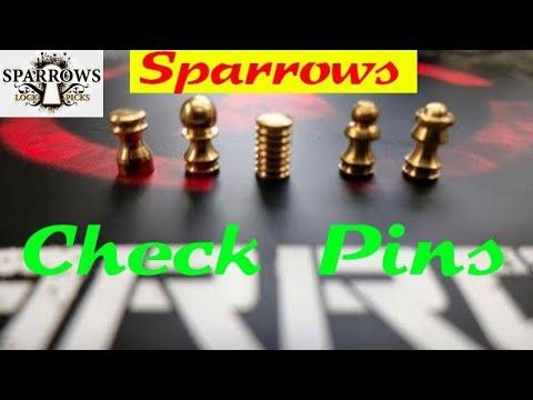 (1106) Review: Sparrows CHECK PINS & BangGood Lock Picking Gear