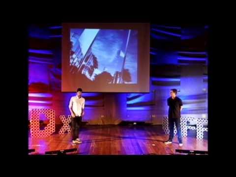 Ver nas formas um mundo diferente: Gustavo Utrabo & Pedro Duschenes at TEDxUFPR