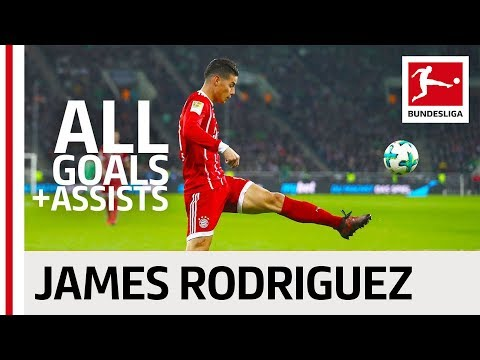 James Rodriguez - All Goals and Assists 2017/18