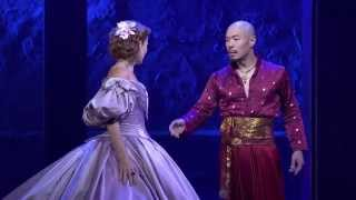 Montage of THE KING AND I with Hoon Lee as the King of Siam