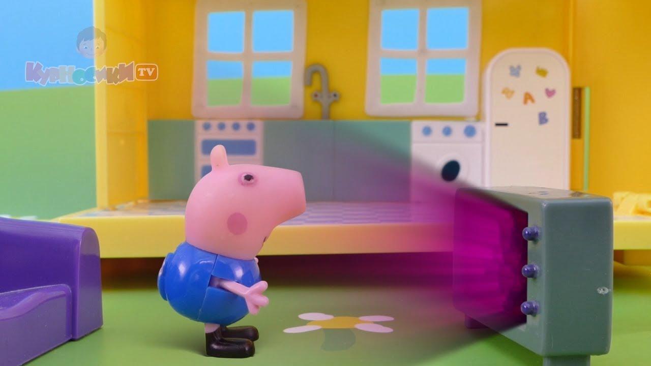 посмотреть мультики свинка пеппа все серии подряд без остановки