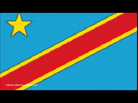 National Anthem of Congo Democratic Republic Of   National flag of Congo Democratic Republic Of