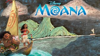 8 Hours of Disney's Moana (How Far I'll Go) ♫ Lullaby for Babies + Chalk Art