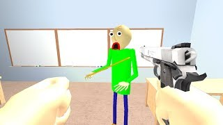 I THREATENED BALDI'S BASICS... YOU WONT BELIEVE WHAT HAPPENS NEXT! (Roblox Baldi's Basics Animation)
