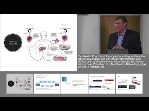Gene and cell therapies: A paradigm shift and its implications for medcomms