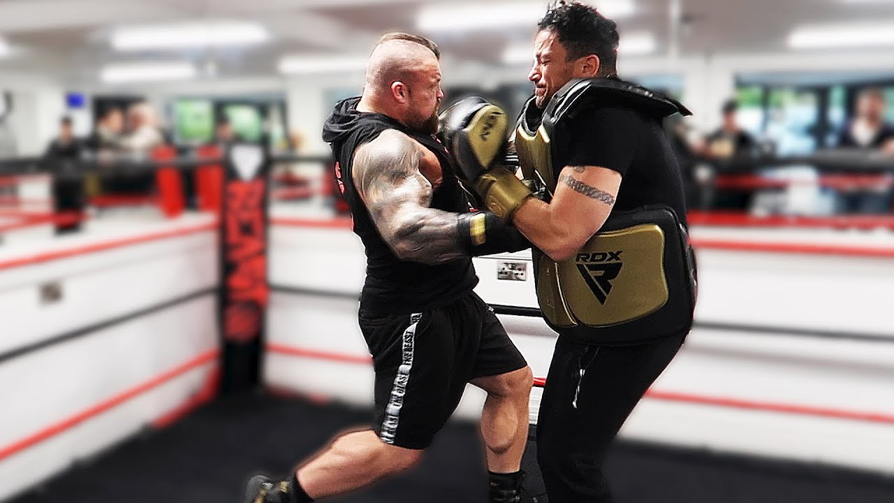 I Got Punched By Eddie Hall - The World's Strongest Man