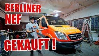 NEF GEKAUFT 🔥😏 - Neues LEBEN für das Berliner Notarzteinsatzfahrzeug ! | ItsMarvin