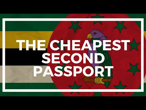 The Cheapest Second Passport Is...