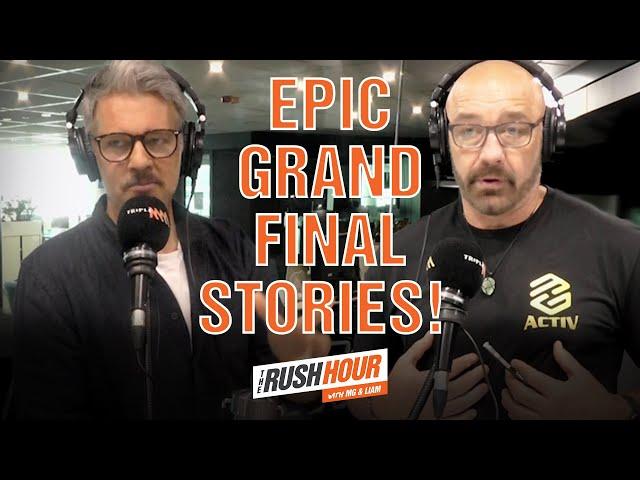 Mark Geyer & Ryan Girdler Recall Their Epic Grand Final Memories   Rush Hour with MG & Liam