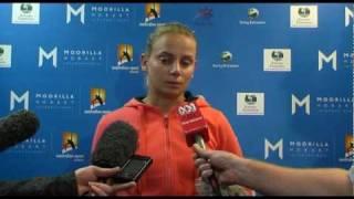 Jelena Dokic's second round press conference