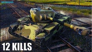 танк Т20 ЗАТАЩИЛ БОЙ  12 ФРАГОВ  World of Tanks лучший ст 7 уровня