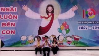 MASHUP BA KỂ CON NGHE-ĐI ĐỂ TRỞ VỀ - Đại hội thiếu nhi 24/6/2017