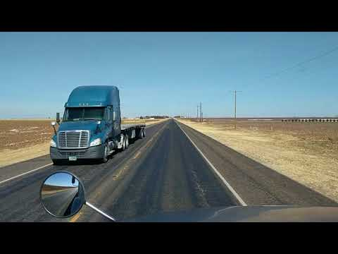 Lubbock, Texas to Hereford, Texas.(2)
