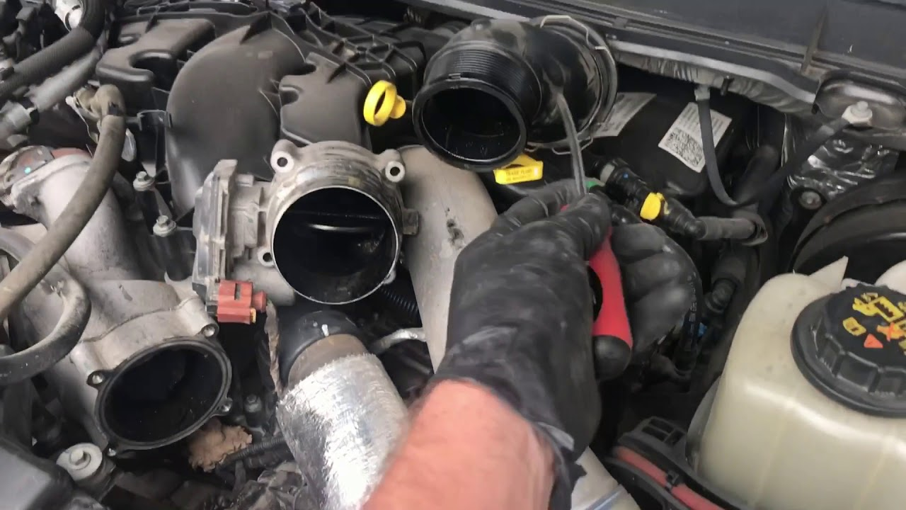 67l Waste Gate Solenoid Replacement Strange Sound Fixed Youtube 2007 Navigator Fuel Filter