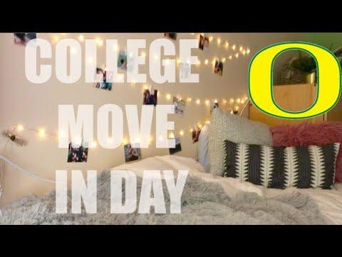 College Move In Vlog | University of Oregon | Emma