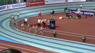 """Бег 1500 метров. Женщины. """"Русская Зима"""""""