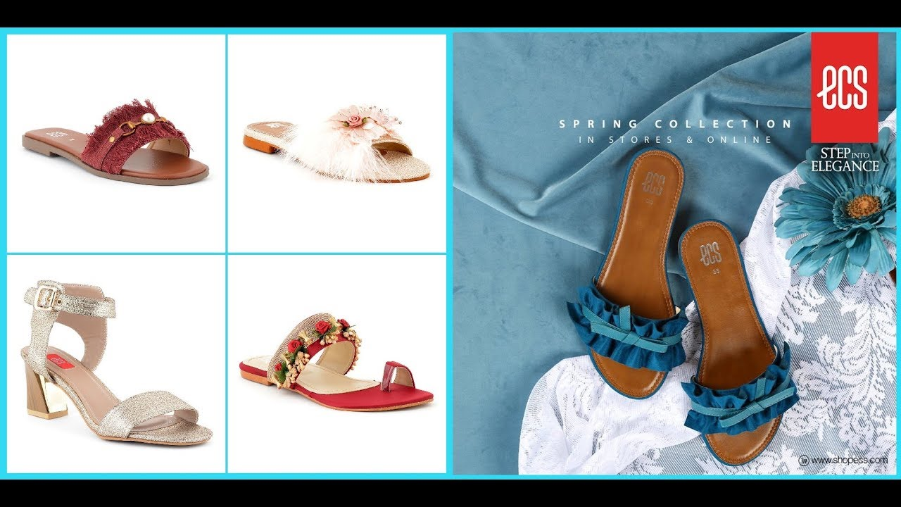 a0e65a56 Ecs Spring Summer Shoes Collection 2019-20=Ecs New Arrival Footwear ...