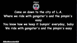 Hollywood Undead - Pimpin (W/Lyrics)