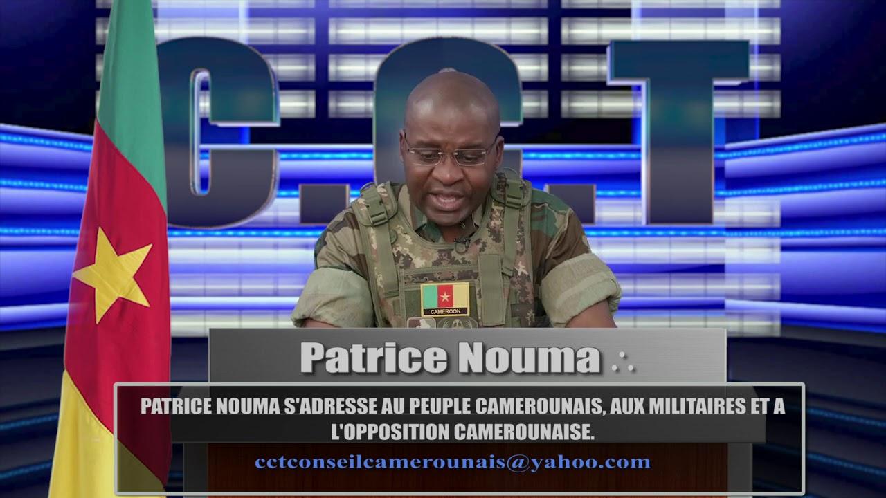 PATRICE NOUMA S'ADRESSE AU PEUPLE CAMEROUNAIS, AUX MILITAIRES ET A L'OPPOSITION PART 2 /4