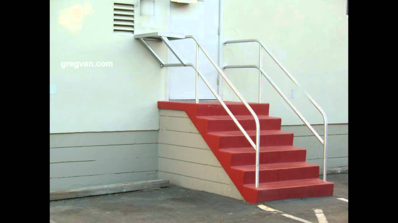 Metal Handrail Safety Issues - Stairway Accident Prevention - YouTube
