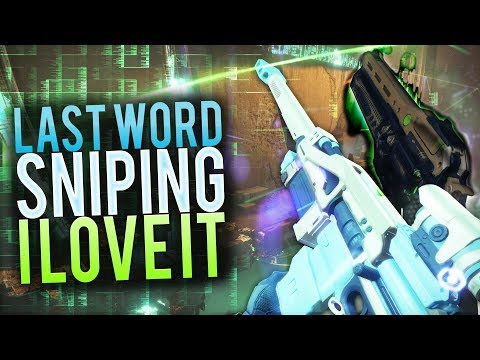 Last Word Sniping is Back.. AND I LOVE IT! (Destiny 2 PS4)