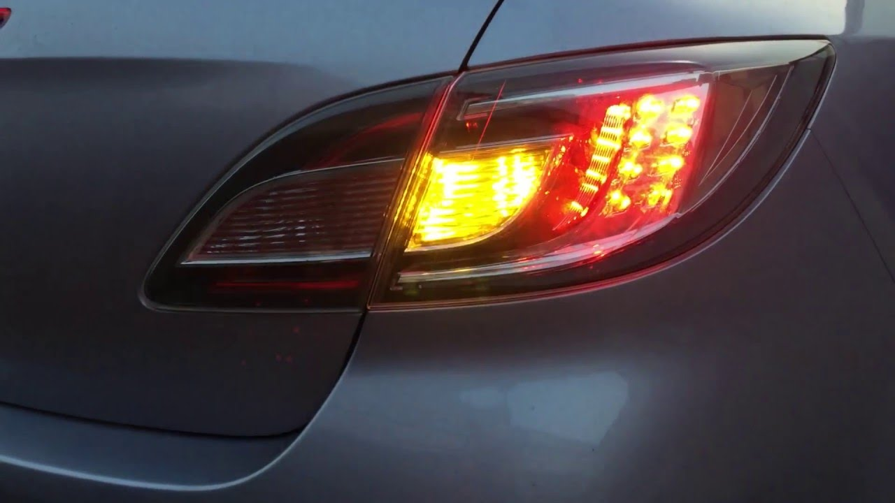 Mazda 6 Gh Led Tail Light Youtube