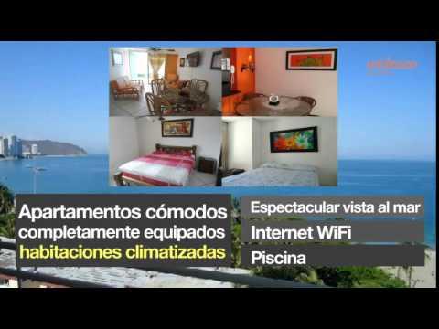 Alquiler apartamentos por d as en el rodadero santa marta youtube - Apartamentos baratos madrid por dias ...