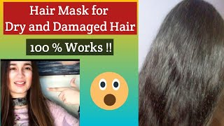 Merium pervaiz Hair Mask review Hair mask for dry and Damaged Hair