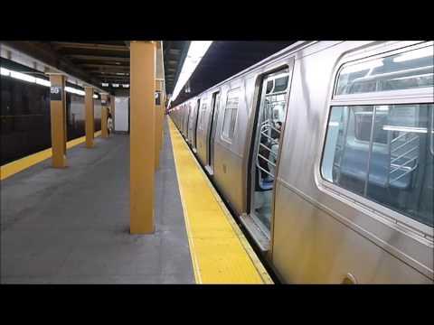 MTA: Manhattan Bound R160A N train at 59th Street.