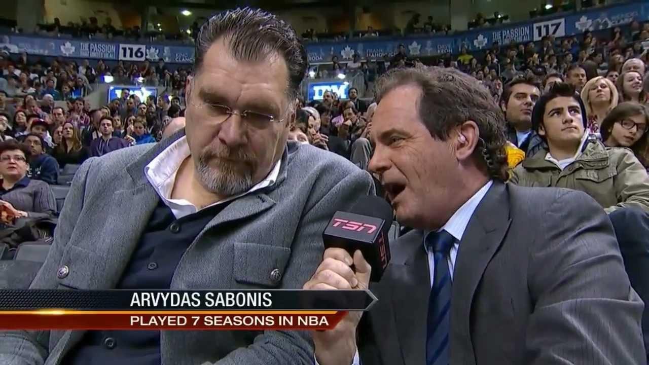 Arvydas Sabonis interviewed about Jonas Valanciunas