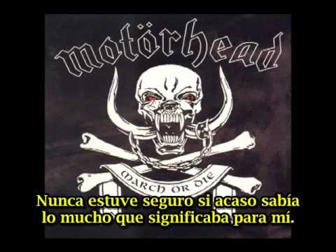 Motorhead Too Good To Be True (subtitulado español)