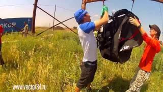 Обычная тренировка по применению спасательного парашюта