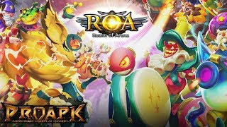 ROA - Realm of Arena Gameplay Android / iOS (Beta Test)