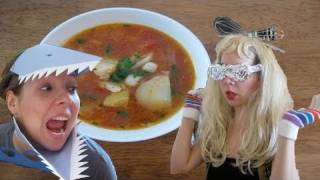Fancy Fisherman's Stew For Lady Gaga And Jaws : Funny Side Up