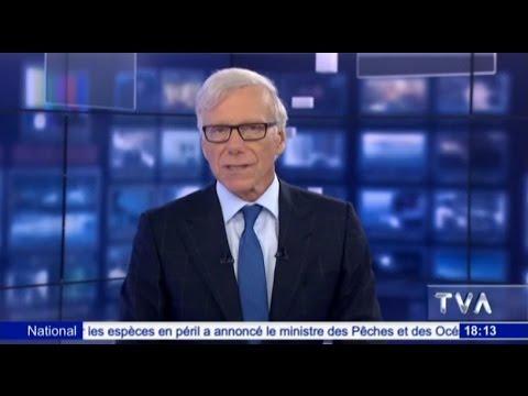 TVA Nouvelles en direct à la Laiterie Chalifoux