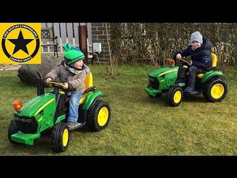 peg perego john deere tractor for children ground force. Black Bedroom Furniture Sets. Home Design Ideas