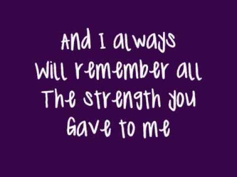 Faith Hill - There You'll Be (Lyrics On Screen)