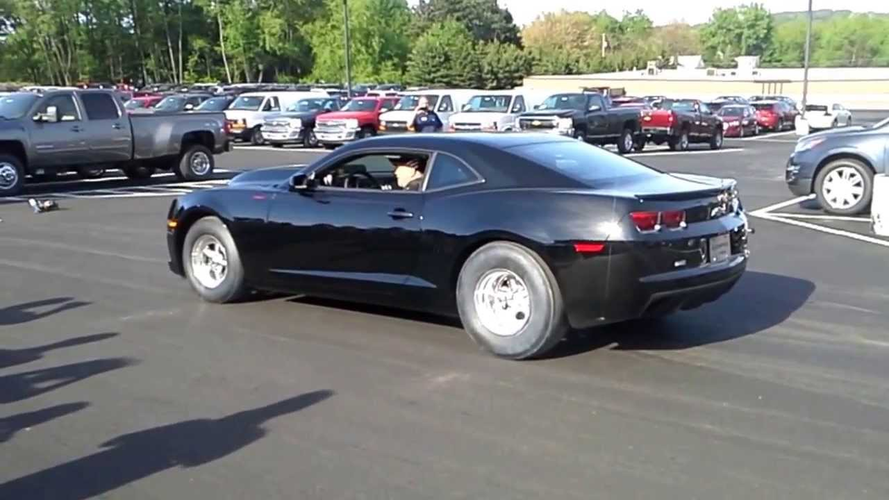 2013 427 COPO Camaro dealership delivery - YouTube